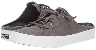 Sperry Crest Vibe Mule Canvas (White) Women's Shoes