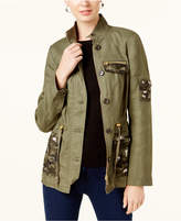 INC International Concepts Embellished Utility Jacket, Created for Macy's