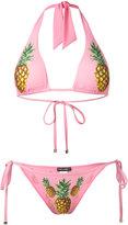 Dolce & Gabbana pineapple print bikini - women - Polyamide/Polyester/Polyurethane/Polyimide - 3