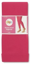 Circo Girls' Fleece Lined Leggings Pink