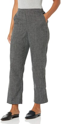 Alfred Dunner Women's Petite Full Back Elastic Proportioned Medium Pant