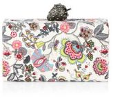 Edie Parker Jean Floral Strawberry Clutch