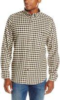 Woolrich Men's Trout Run Flannel Shirt Modern Fit, Slate Small Buffalo, X-Large