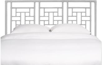 David Francis Furniture Ohana Headboard - White Queen