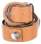 Karen Millen Leather Studded Belt