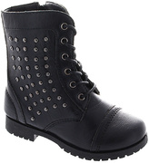 Laura Ashley Black & Silver Studded Boot