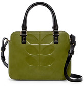 Orla Kiely Embossed Stem Jeanette Leather Bag