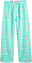 Calvin Klein Plush Printed Pajama Pants, Little Girls & Big Girls