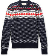 Holiday Boileau - Fair Isle Virgin Wool Sweater