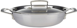 Le Creuset 3-Ply Stainless Steel Shallow Casserole Dish (24cm)
