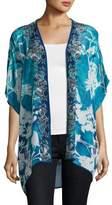 Tolani Noelle Printed Jacket, Blue