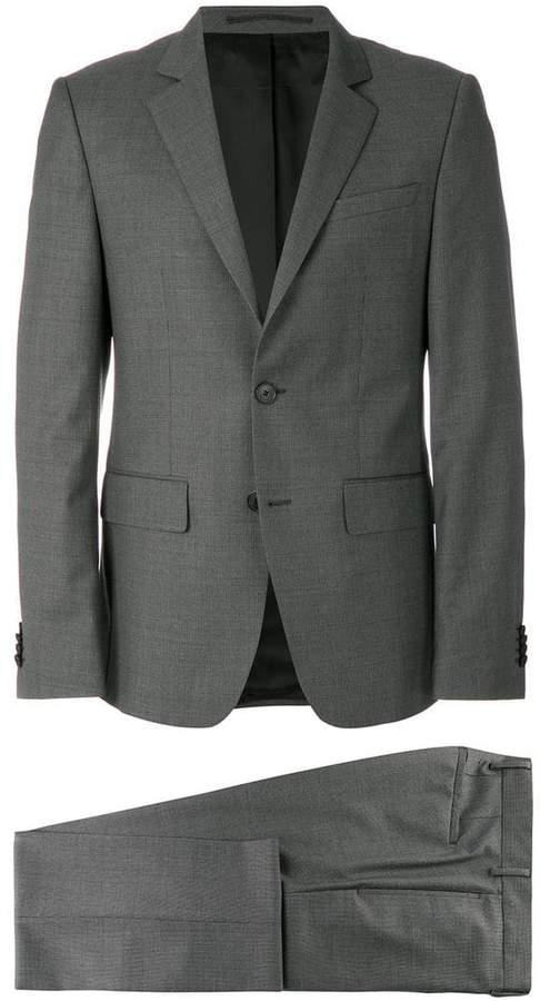 Givenchy microstructured two piece suit
