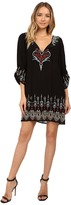 Tolani Tina Embroidered Dress