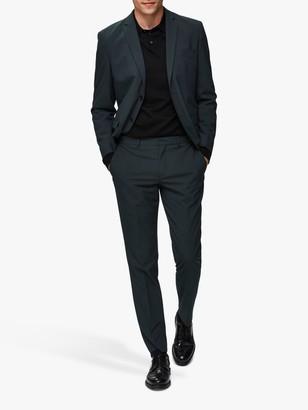 Selected Slim Fit Suit Jacket, Dark Green