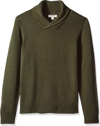 Goodthreads Amazon Brand Men's Soft Cotton Shawl Collar Sweater