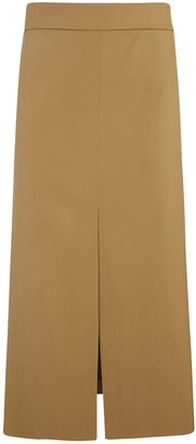 RED Valentino Back Cutout Detail Skirt