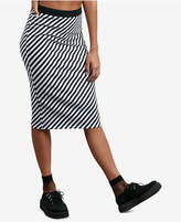 Volcom Juniors' Futures Past Stretch Midi Skirt