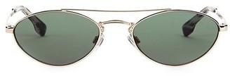 Le Specs Luxe Elliptical Liaison 55MM Aviator Sunglasses
