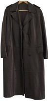 Loewe Brown Leather Coats