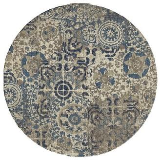 Pottery Barn Talia Hand Loomed Wool Rug - Gray