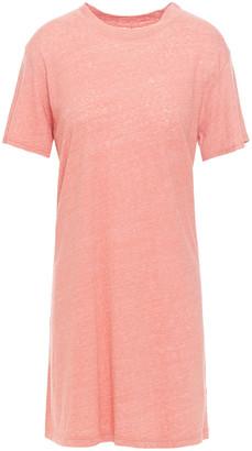 Enza Costa Cotton-blend Jersey Mini Dress
