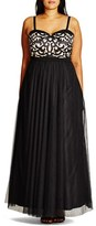 City Chic Plus Size Women's 'It Girl' Maxi Dress