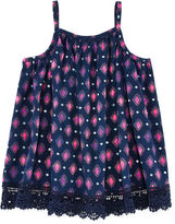 Arizona Crochet Bottom Tank Top - Preschool Girls 4-6x