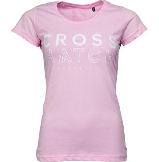 Crosshatch Womens Scarlett T-Shirt Sweet Lilac