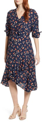 Angel Maternity Bella Cherry Print Maternity Dress