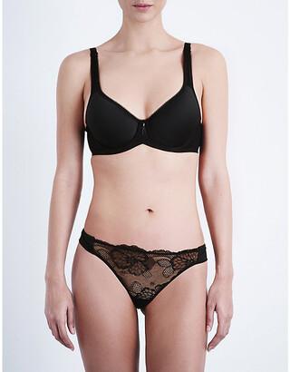Wacoal Black Basic Beauty Contour Plunge Bra, Size: 32C