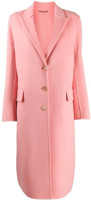 Ermanno Scervino Single-Breasted Peaked Lapels Coat