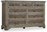 Hooker Furniture Cortina Nine-Drawer Dresser