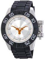 Game Time Men's 'Beast' Quartz Metal and Polyurethane Casual Watch, Color:Black (Model: COL-BEA-TEX)