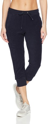 Andrew Marc Women's Terry Cloth Crop Jogger