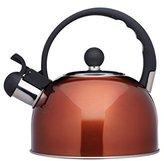 Kitchen Craft Le'Xpress Induction-Safe Whistling Stovetop Kettle, 1.4 Litres - Copper