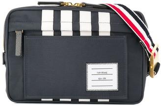 Thom Browne 4-Bar Stripe Contrast Nylon Bum Bag