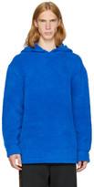 Alexander Wang Blue Fleece Hoodie