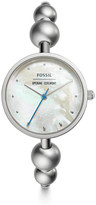Fossil x Opening Ceremony Three-Hand Stainless Steel Bangle Watch