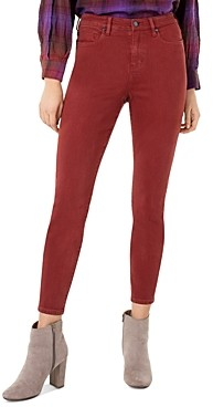 Liverpool Los Angeles Liverpool Abby Skinny Jeans in Cherry Wood