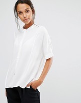 Selected Brissa Oversized Short Sleeve Shirt