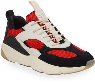 Cole Haan Zerogrand Mixed Leather Runner Sneakers