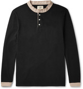 Kent & Curwen Contrast-Trimmed Cotton-Jersey Polo Shirt