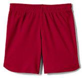 Classic Girls Mesh Shorts-Red