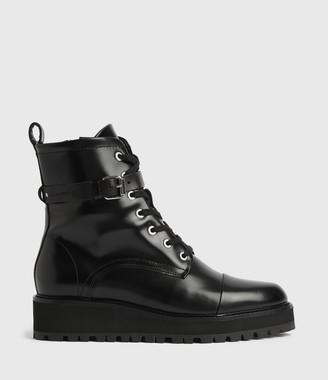 AllSaints Donita Wedge Boots