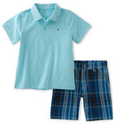 Tommy Hilfiger Two-Piece Polo and Shorts Set