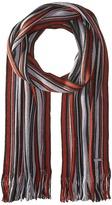 MICHAEL Michael Kors Four Color Variagated Stripe Raschel Muffler
