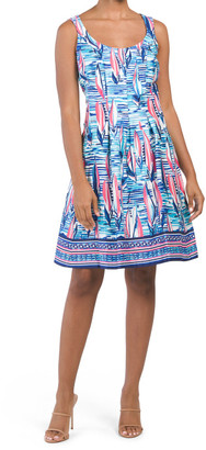 Inverted Box Pleat Dress
