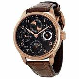 IWC Men's IW503202 Portugieser Black Watch