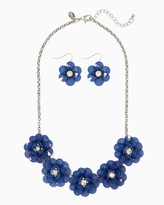 Charming charlie Pretty Gardens Necklace Set