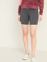 Old Navy Mid-Rise Jersey Bike Shorts for Women -- 7-inch inseam